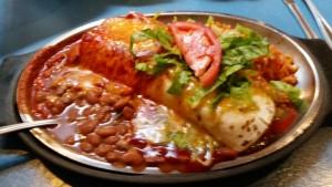 Tia Sophia's Christmas burrito