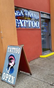 Current location of Sea Tramp Tattoo, Portland, OR